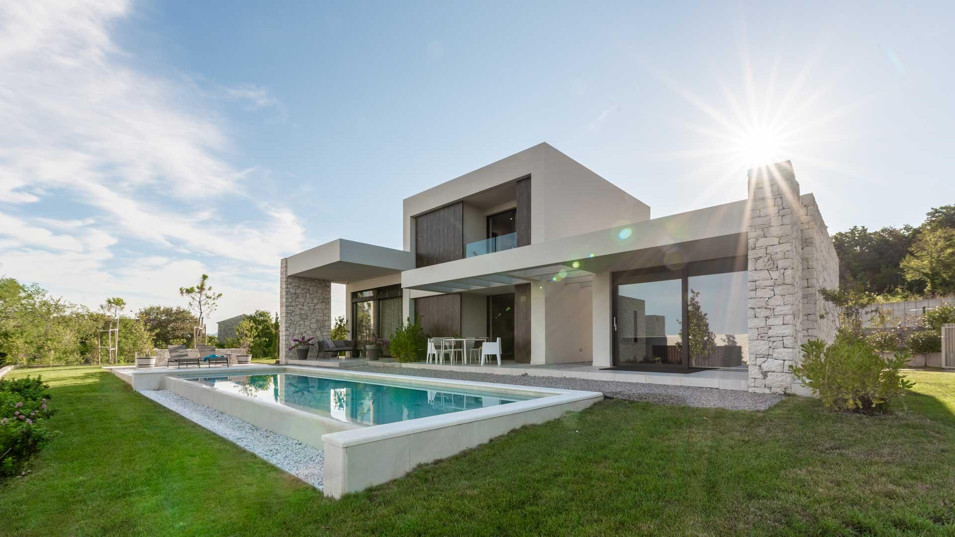 Urban-Villa in Labin